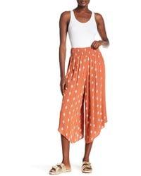 Dress Forum - Asymmetrical Wide Leg Woven Pants - Lyst