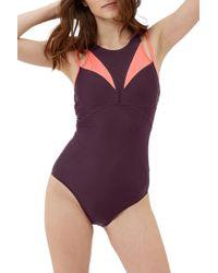 Sweaty Betty - Free Dive Swimsuit - Lyst