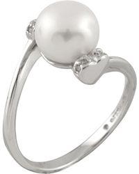 Splendid - 8-8.5mm Cultured Freshwater Natural Pearl Ring - Lyst