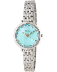 Fossil - Women's Jacqueline Bracelet Watch - Lyst