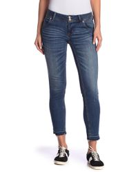 Hudson Jeans - Collin Flap Skinny Ankle Jeans - Lyst