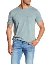 Threads For Thought - Raw Edge Organic Cotton Pocket Tee - Lyst