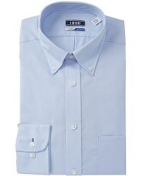 Izod - Pinpoint Regular Fit Dress Shirt - Lyst