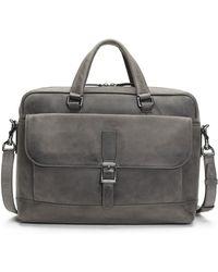 Frye - Oliver 2 Handle Leather Bag - Lyst