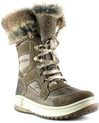 Santana Canada - Marta Faux Fur Insulated Waterproof Winter Boot - Lyst