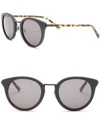 6845bda3bb Lyst - Gucci Men s Retro Square Plastic Frame Sunglasses in Blue for Men