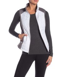 Marc New York - Quilted Insulated Zip Front Vest - Lyst