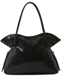 Sorial - Bijou Snake Embossed Leather Tote Bag - Lyst