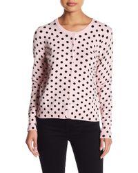 Philosophy Apparel - Polka Dot Crew Neck Sweater (petite) - Lyst