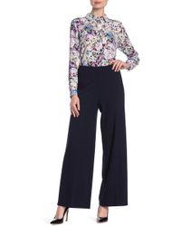 T Tahari - Pull-on Wide Leg Pants - Lyst