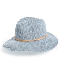 Treasure & Bond - Slub Knit Panama Hat - Lyst
