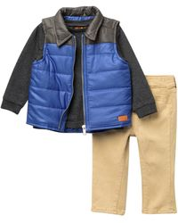 7 For All Mankind - Vest, Top, & Pants Set (baby Boys) - Lyst