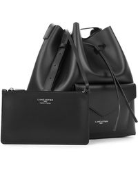 Lancaster Paris - Pur Smooth Envelope Leather Bucket Bag - Lyst