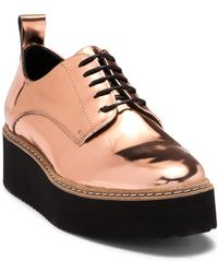 Shellys London - Teivis Leather Platform Derby - Lyst