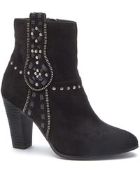 Matisse - Deco Faux Suede Studded Bootie - Lyst