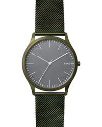 Skagen - Men's Jorn Mesh Bracelet Watch - Lyst