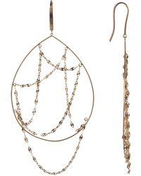 Lana Jewelry - 14k Yellow Gold Oval Earrings - Lyst