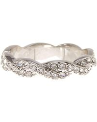 Ariella Collection | Cz Braided Band Ring | Lyst