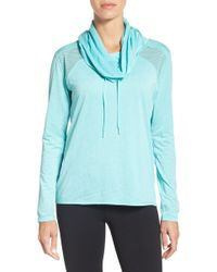 Zella - Adventure Hooded Pullover - Lyst