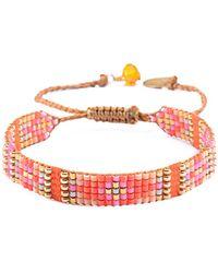 Mishky - Yeyi Beaded Cuff Bracelet - Lyst