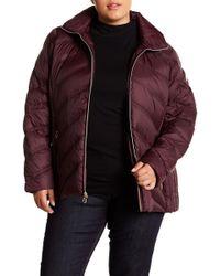 MICHAEL Michael Kors - Packable Quilted Down Jacket (plus Size) - Lyst