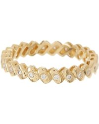 Dana Rebecca - 14k Yellow Gold Diamond Sophia Ryan Stacking Band - 0.19 Ctw - Lyst