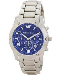 MICHAEL Michael Kors - Men's Caine Chronograph Bracelet Watch - Lyst