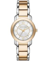 MICHAEL Michael Kors - Women's Two Tone Janey Watch, 33mm - Lyst