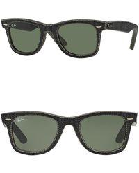 Ray-Ban - 50mm Wayfarer Sunglasses - Lyst