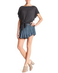 On The Road - Penny Lace Trim Skirt - Lyst