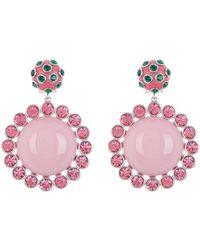 Marc Jacobs - Dot Drop Statement Earrings - Lyst