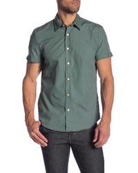 Parke & Ronen - Biscayne Printed Short Sleeve Slim Fit Shirt - Lyst