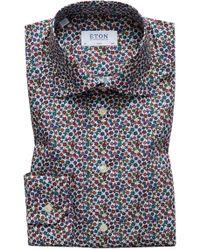 Eton of Sweden - Men's Slim Fit Floral Print Dress Shirt - Lyst