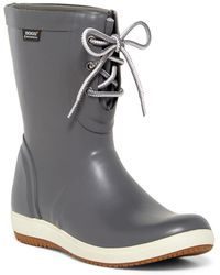 Bogs - Quinn Lace-up Waterproof Rain Boot - Lyst