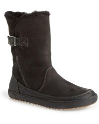 Birkenstock - Woodbury Genuine Shearling Lined Boot - Discontinued - Lyst