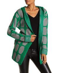 Insight - Hooded Cuff Sleeve Cardigan - Lyst