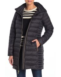 MICHAEL Michael Kors - Mizzy Zip Front Quilted Pack Jacket - Lyst