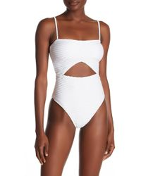 The Bikini Lab - Rack Sand Dunes One-piece Swimsuit - Lyst