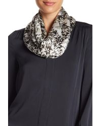 Vince Camuto | Toile Flowers Silk Oblong Scarf | Lyst