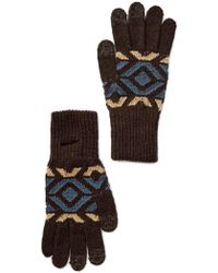 Pendleton - Knit Wool Blend Texting Glove - Small - Lyst
