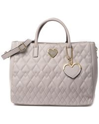 Betsey Johnson - Diamond Quilted Structured Satchel - Lyst