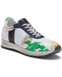Khrio - Mixed Media Graphic Sneaker - Lyst
