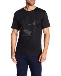 Karl Lagerfeld - Short Sleeve Silhouette Tee - Lyst