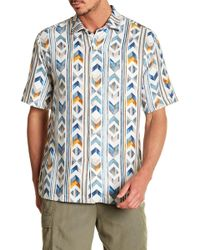 Tommy Bahama - Aloha Arrow Original Fit Short Sleeve Shirt - Lyst