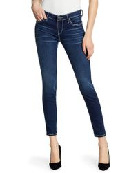 True Religion - Halle Super Skinny Jeans - Lyst
