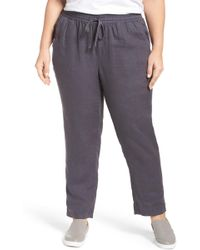 Caslon - Caslon Linen Drawstring Trousers - Lyst