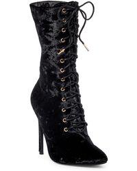 Elegant Footwear   Freya Lace Boot   Lyst