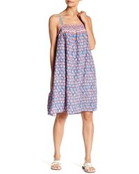 Beach Lunch Lounge - Renata Embroidered Print Dress - Lyst