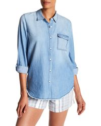 Soft Joie - Onyx B Chambray Shirt - Lyst