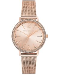 Vince Camuto - Women's Light Rose Sunray Dial Watch, 34mm - Lyst